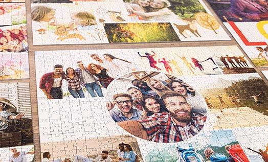 collage di foto per puzzle
