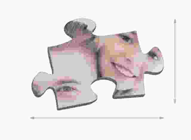 Dimensioni die tasselli del puzzle 200