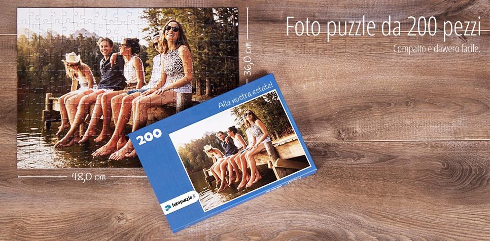 Foto puzzle da 200 pezzi