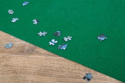 Tappetino per puzzle da 500, 1000, 1500 e 2000 pezzi