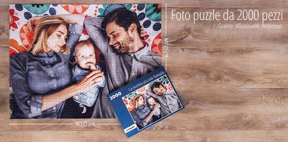 Fotopuzzle da 2000 pezzi