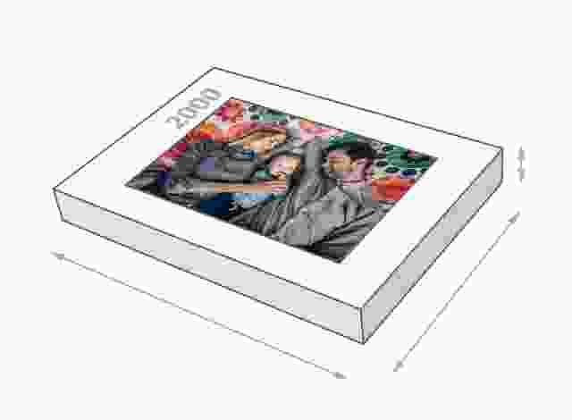 Dimensione della scatola 2000