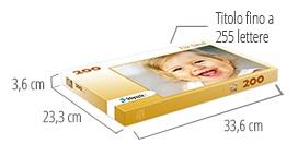 Dimensione della scatola del puzzle - foto puzzle 200 pezzi