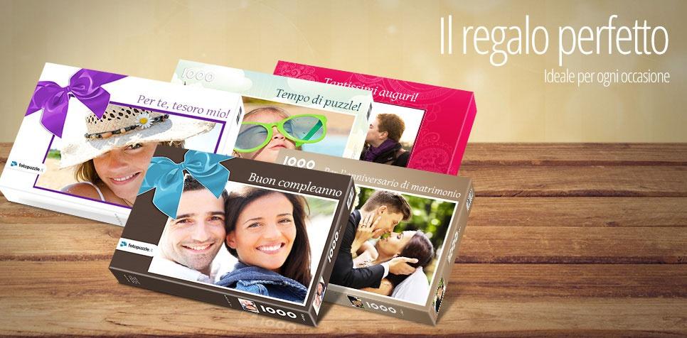 La scatola adatta al tuo puzzle fotografico