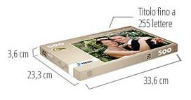 Dimensione della scatola del puzzle - foto puzzle 500 pezzi