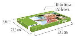 Dimensione della scatola del puzzle - foto puzzle 100 pezzi
