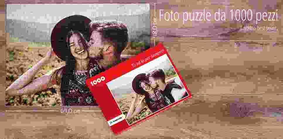 Foto puzzle da 1000 pezzi