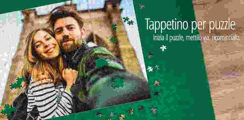 Tappetino per puzzle