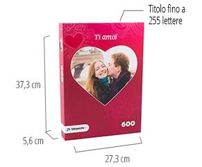 Dimensione della scatola del puzzle - foto puzzle 600 pezzi