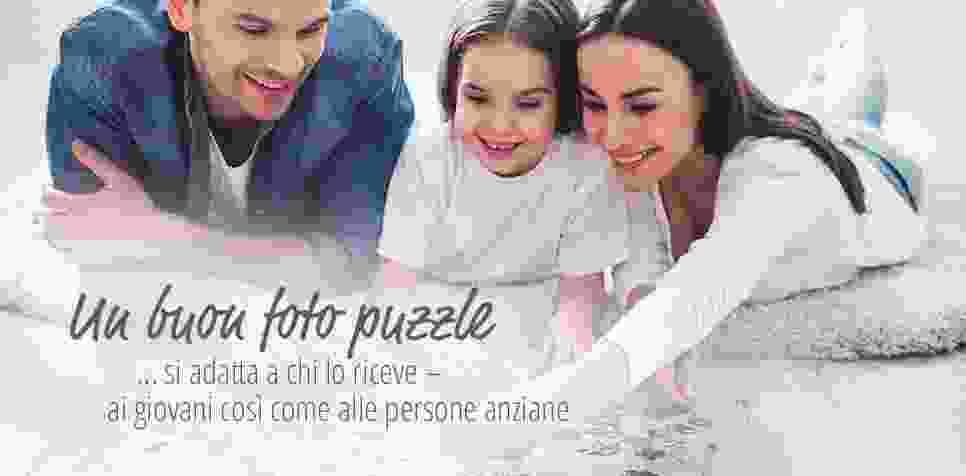 Foto puzzle: molte dimensioni