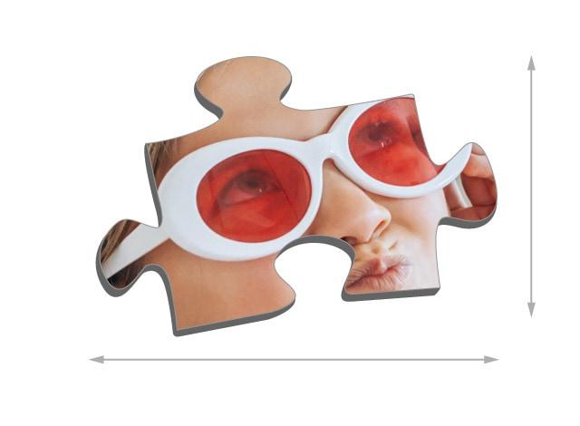 Dimensione del tassello del puzzle