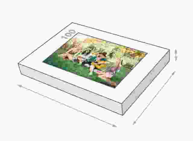 Dimensione della scatola 100