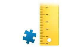 Proporzione dei tasselli del foto puzzle 1000 pezzi