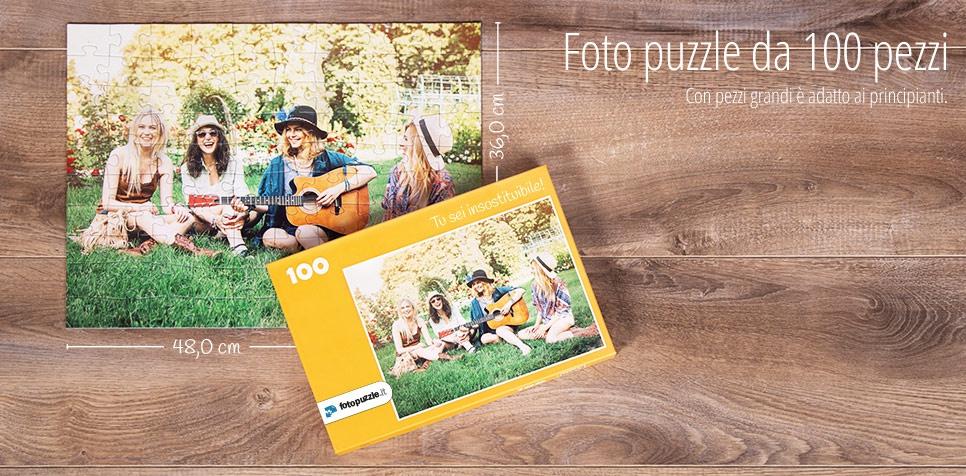 Foto puzzle da 100 pezzi