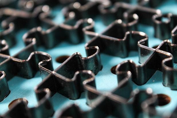 Puzzles perfetti grazie ad una precisa punzonatura