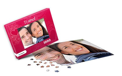 Fotopuzzle idea regalo