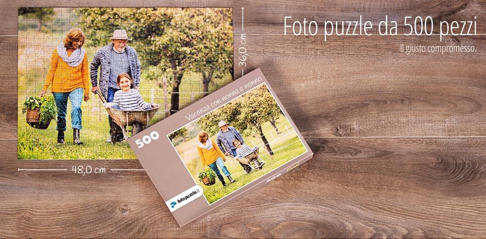 Foto puzzle da 500 pezzi
