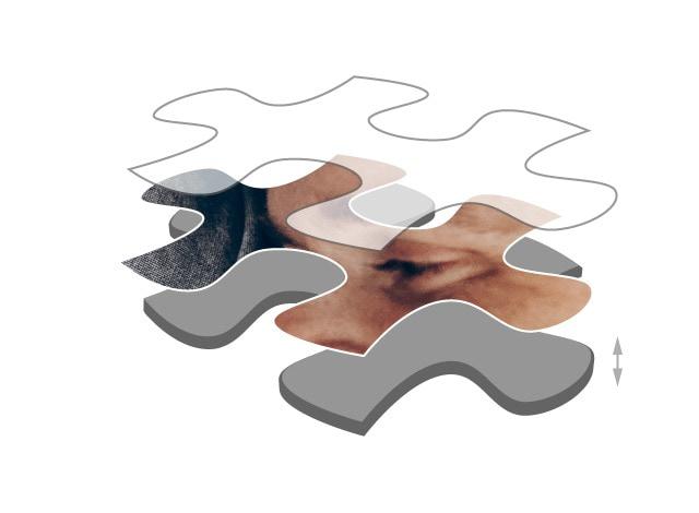 Cartone per puzzle 2000